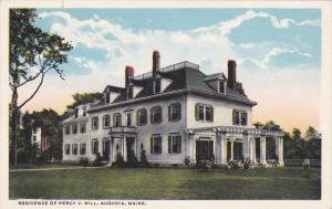 Residence of Percy V. Hill, AUGUSTA, Maine, 10-20s