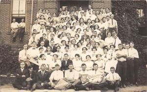 Angola Indiana~Tri-State College-Univ~Philomathean Literary Society~c1910 RPPC