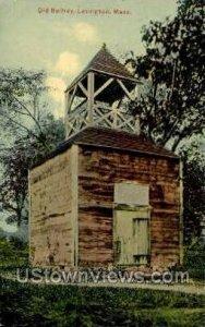 Old Belfrey - Lexington, Massachusetts MA