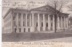 MACON , Georgia , 1907 ; Auditorium & City Hall