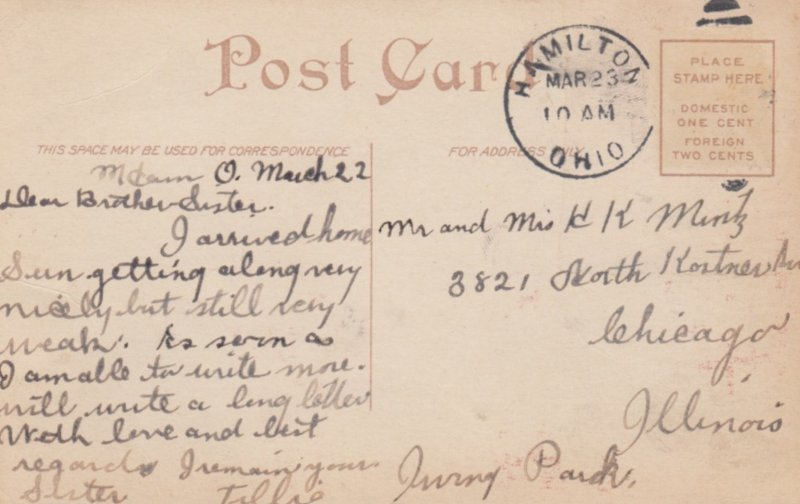 INDIANAPOLIS, Indiana, 1900-10s; Christ Church & Columbia Club