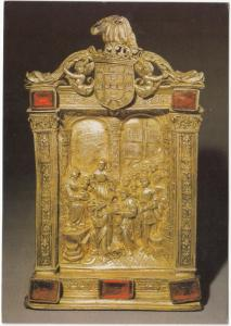 PORTA PAZ, Parta dourada. Sec. XVI, Oferta de D. Manuel, unused Postcard