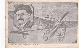 Bleriot mit seiner Flugmaschine in WIEN , Austria , 1910s