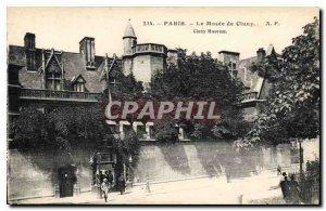 Postcard Old Paris Le Musee de Cluny