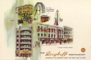 THE BERGHOFF RESTAURANT SINCE 1898 WEST ADAMS ST and NORTH WABASH CHICAGO, IL