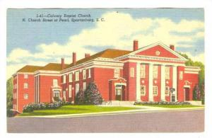 Calvary Baptist Church, N. Church Street at Pearl, Spartanburg, South Carolin...