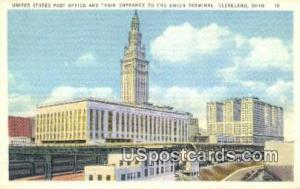 United States Post Office Cleveland OH Unused