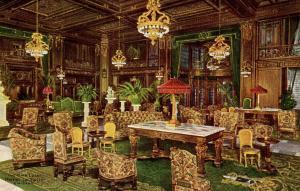 IL - Chicago. Hotel La Salle, Main Lobby  (Interior)