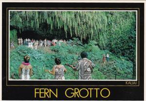 Hawaii Kauai Fern Grotto