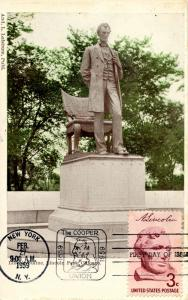 President Abraham Lincoln, St Gaudens Monument. First Day Issue, Scott #1114....