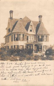 Pinehurst North Carolina Residence Real Photo Vintage Postcard JJ658775