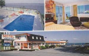 3-Views, Motel Jacques, Swimming Pool, Ste. Marthe du Cap-De-La-Madeleine, Qu...