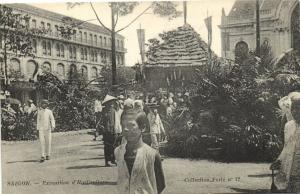 CPA Vietnam Indochine COCHINCHINE Saïgon - Exposition d'Horticulture (61704)