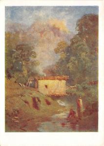B74911 a Vasilev Russia  painting  art
