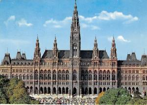 Wien Rathaus Vienna City Hall Front view Hotel de Ville Voitures Auto Cars
