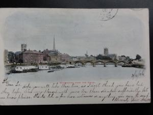 Worcester from the River c1906