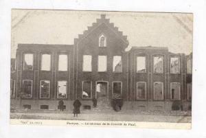 Pervijze (Pervyse), Belgium, WWI  Le couvent de St-Vincent de Paul