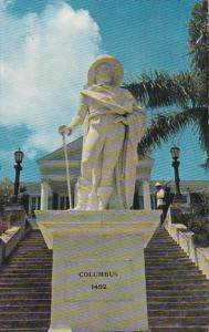 Bahamas Nassau Christopher Columbus Statue 1960