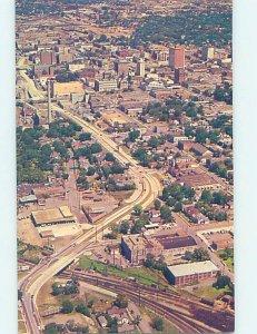 Pre-1980 AERIAL VIEW Little Rock Arkansas AR AC9808