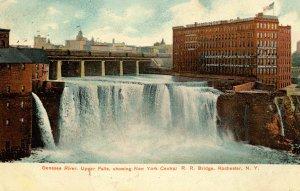 NY - Rochester. Genesee River, Upper Falls