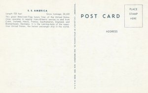 S.S. AMERICA, United States Lines, 1900-10s