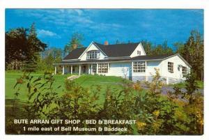 Bute Arran Gift Shop Bed & Breakfast,  Baddeck,  Nova Scotia, Canada,  40-60s