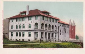 SPOKANE, Washington, 1900-1910´s; Athletic Club