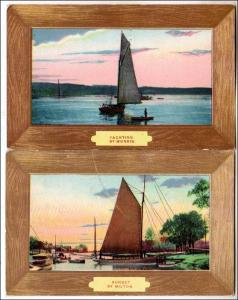 2 - Scenes with Sailing Ships