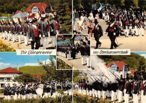 Die Burgerwehr von Oberharmersbach Festival Schwarzwald
