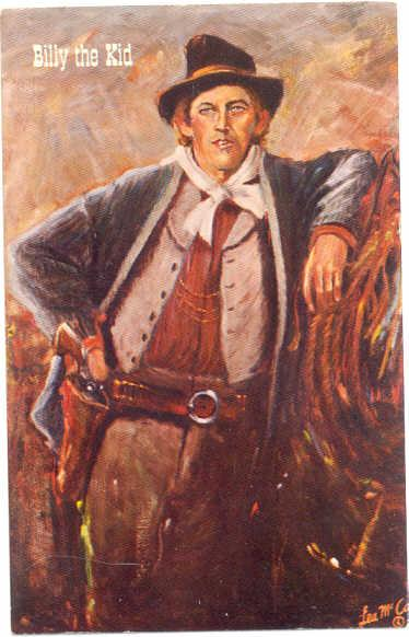 Billy the Kid Gunfighters of the Old West by Lea McCarty