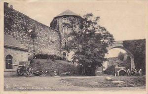 Belgium Namur Le Chateau des Comtes et Tunnel 1950