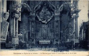 CPA TOULOUSE - Église de la Dalbade - Le Maitre-Autel avant la (582644)