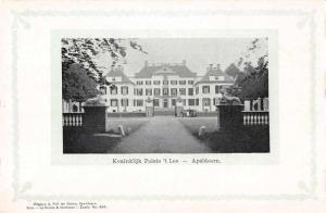 Apeldoorn Netherlands Koninklijk Pales't Loo Exterior View Postcard J67530