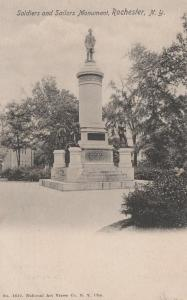 Soldiers And Sailors Monument - Rochester, New York - pm 1906 - UDB