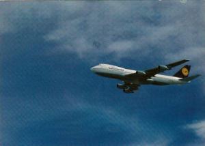 Lufthansa Boeing 747-200 Jet airplane , inflight , PU-1991