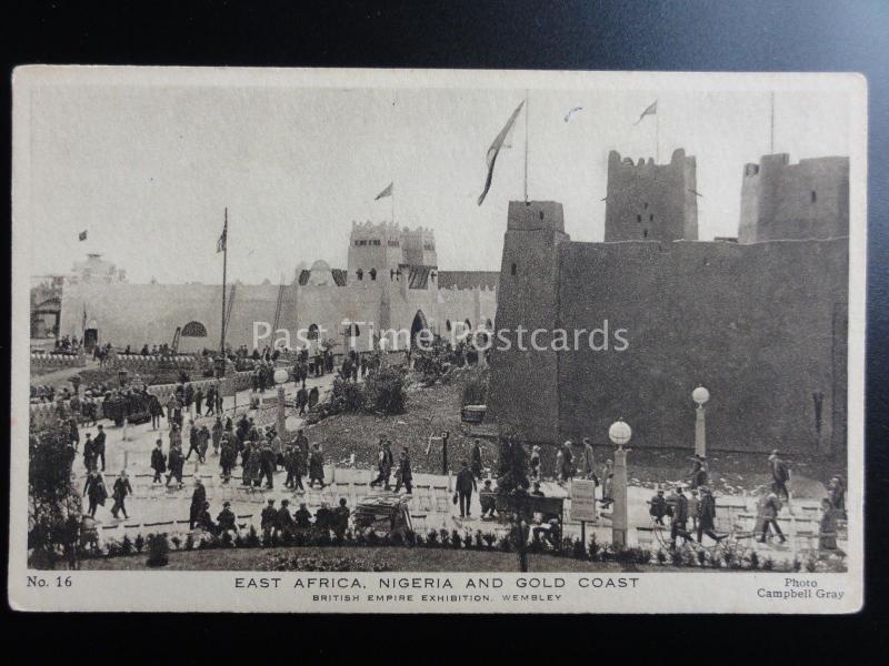 London: 1924 British Empire Exhibition EAST AFRICA NIGERIA & GOLD COAST