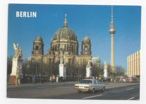 Berlin Germany Cathedral Dom TV Tower 1996 Postcard 4X6