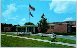 Topeka, Kansas Postcard Capper Foundation for Crippled Children Hospital 1960s