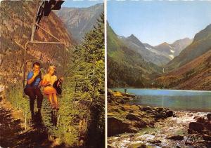 BR6481 Les Pyrenees Arrivee du Telesiege du Pont d'Espagne  france