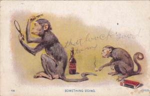 Monkeys ; Something Doing , PU-1909