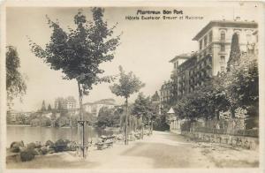 Switzerland Montreux Bon Port Hotels Excelsior Breuer et National