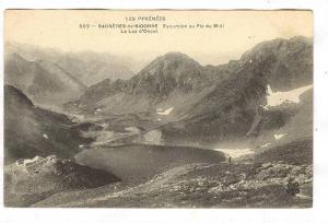 Excursion Au Pic Du Midi, Le Lac d'Oncet, Bagnères-de-Bigorre (Hautes-Pyrén...