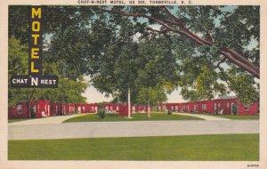 TUBEVILLE , South Carolina , 1930-40s ; CHAT-N-REST Motel , US 301