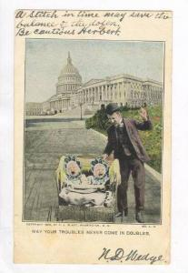 Comic,May Your Troubles Never Come In Doubles,WA,D.C.05