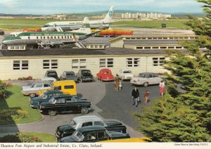 SHANNON Airport , Ireland , 1950-60s ; Prop Airplanes