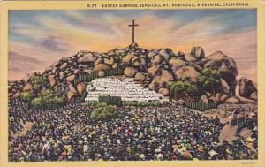 California Riverside Easter Sunrise Services Mount Rubidoux