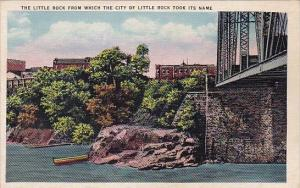 Arkansas Little Rock From Which The City Of Little Rock Took Its Name