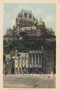 Chateau Frontenac from Lower Town, Quebec, Province of Quebec, Canada, 10-20s