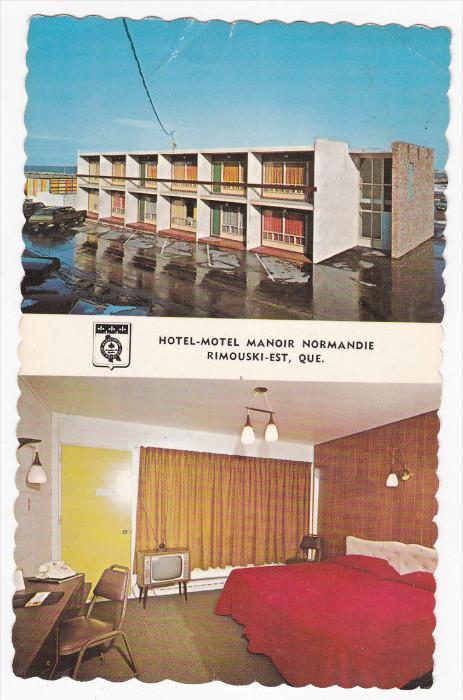 RIMOUSKI-EST , Quebec , Canada , 50-60s : Hotel-Motel Manoir Normandie