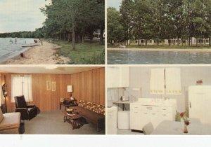 INDIAN RIVER , Lake Burt , Michigan, 1950-60s; Arrowhead Resort